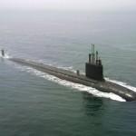 Submarine Going Right
